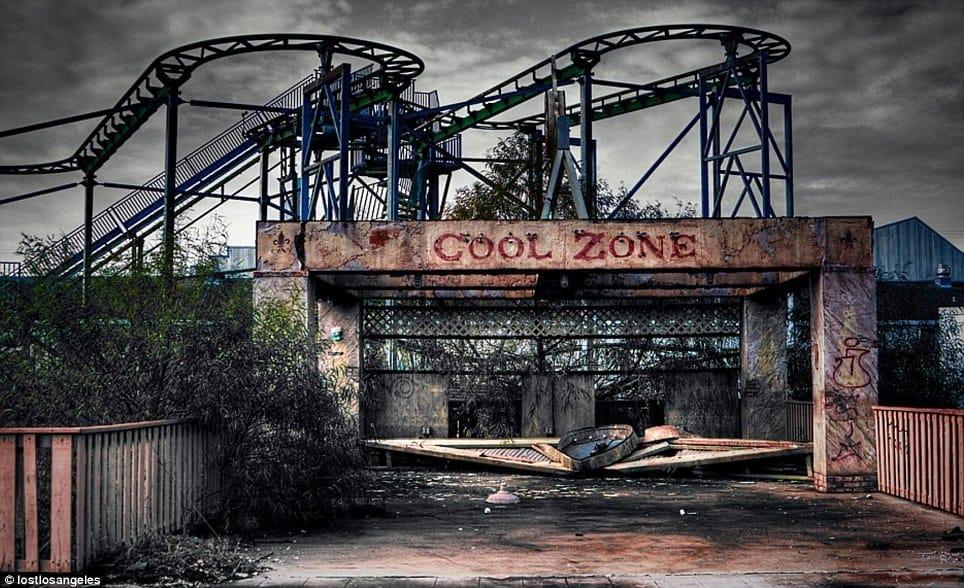Deserted fairground