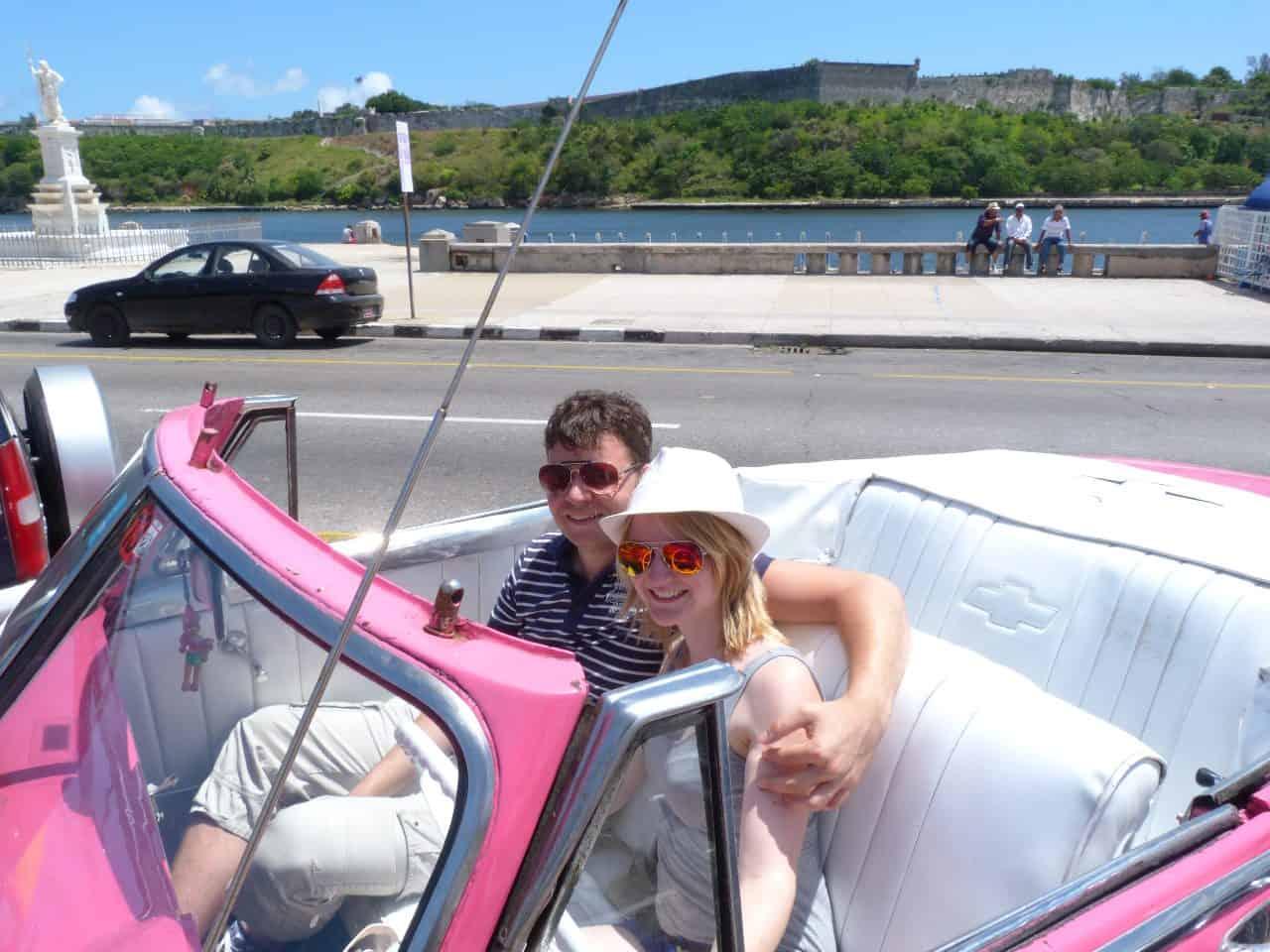 Foto Niek Arts auto Cuba