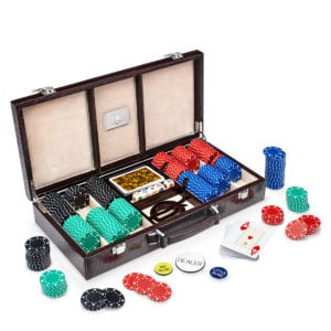 Leather Poker Game Case
