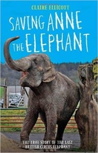 Saving Anne the Elephant Book Cover