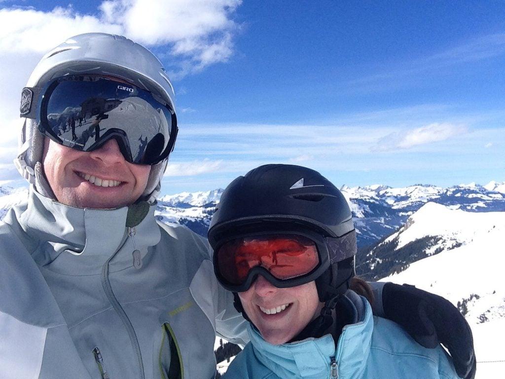kelly skiing