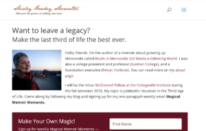 Writing Your Life Story with Memoir Magic
