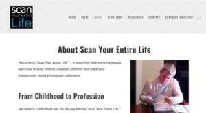 Writing Your Life Story with Scan Your Entire Life