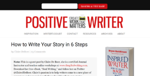 Writing Your Life Story with Positive Writer