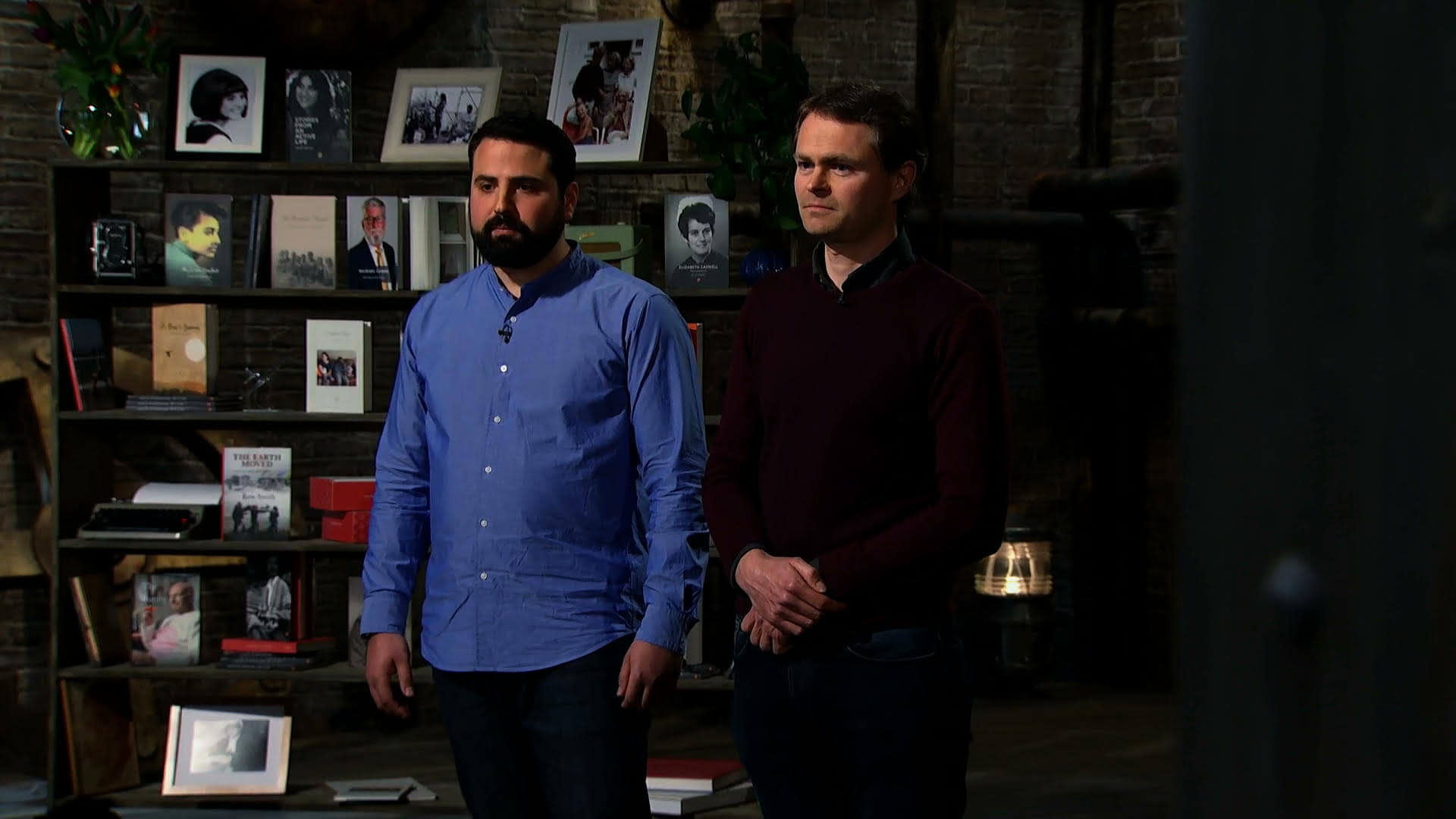 Behind the scenes as StoryTerrace entered Dragons' Den!